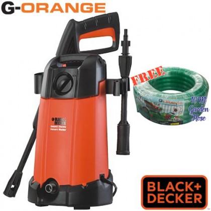 Black & Decker PW1200 1200W High Pressure Washer (FOC 10M Garden Hose)